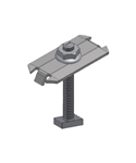 UniRac 302027C - SOLARMOUNT Integrated Bonding Top Mounting Midclamp Pre-Assembled