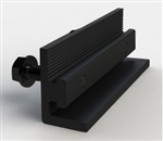 Unirac SOLARMOUNT - Integrated Bonding Splice Bar - Dark - Unirac SOLARMOUNT 303018D