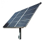 Wattsun AZ-225 Active Solar Tracker for 8 Sharp 216W Modules - AZ-22508SH21