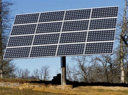 Wattsun AZ-225 Active Solar Tracker for 12 Sharp 210W Modules - AZ-22512SP210