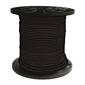 Bulk EcoCable 4 AWG pv cable 10.2004-B > Single Jacket Sunlight Resistant 4 AWG Cable - 1 foot