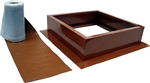 Attic Breeze AB-004-TCT > Roof Curb Installation Kit, Terra Cotta