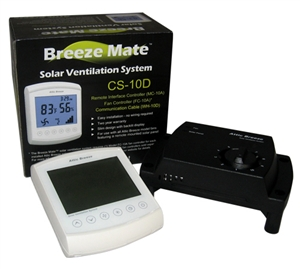 Attic Breeze Mate for Fans with Remote Panel - CS-10D