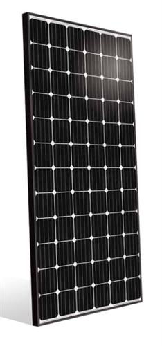 Benq Auo Solar 355 Watt Mono Solar Panel Black Frame