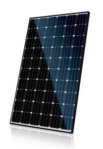 Canadian Solar CS6K-275M > 275 Watt Mono Solar Panel - Black Frame, White Back Sheet - BOW