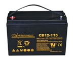 Centennial Battery CB12-115 >  12V 115 Amp Hour - Group 31 AGM Sealed Lead Acid Battery