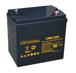 Centennial Battery CB6-224 > 6 Volt 224 Amp Hour - AGM Battery