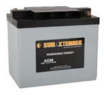 Concorde PVX-1030T > 6 Volt 103 Amp Hour AGM Battery