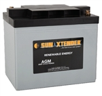 Concorde PVX-1380T > 6 Volt 138 Amp Hour AGM Battery