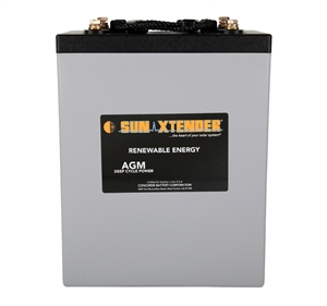 Concorde PVX-9150T > 2 Volt 915 Amp Hour AGM Battery