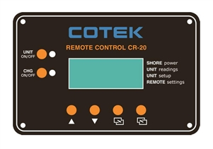 Cotek CR20 > Remote for Cotek SL Series Inverters - Includes 50' cable