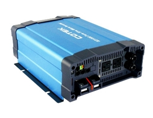 Cotek SD1500-124 HW > 1500 Watt 24 VDC Pure Sine Wave Inverter with Standard Hardwire Socket Type, UL Approved