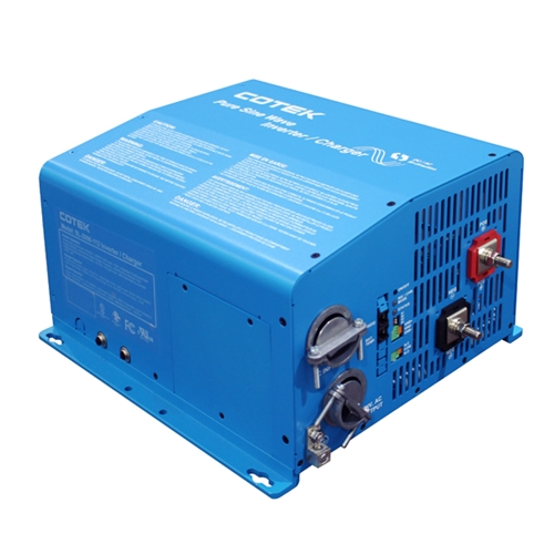 Cotek SL-3000-112 > 3000 Watt 12 VDC 115VAC Pure Sine Wave Inverter /  Charger