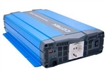 Cotek SP1500-224 > 1500 Watt 24 Volt Inverter / Pure Sine Wave with Schuko socket type