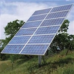 DPW Solar TPM1-H > Top of Pole Mount for 1 Solar Panel - Size H