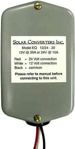 SOLAR CONVERTERS EQ 24/48-10A, DC TO DC UP/DOWN CONVERTER