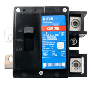 Eaton BRK-125A-2P-240V > 125 Amp 240 VAC 2-Pole Breaker for Enphase Enpower Smart Switch