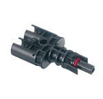 EcoCable Tyco Branch Connector - 1 Female, 2 Male - Negative