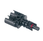 EcoCable Tyco Branch Connector - 2 Male to 1 Male - NEGATIVE
