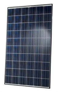 Hanwha Q Cells 260 Watt Poly Solar Panel Black Frame