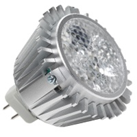 Halco MR16/5RGB/FL/LED - 4.5 Watt 31 Deg RGB LED Light