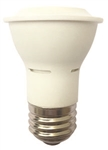 Halco 81038 > 6 Watt Par16 2700K Dimmable LED Light - PAR16FL6/827/W/LED 81038 LED PAR16 6W 2700K DIMMABLE 40 DEGREE E26 PROLED