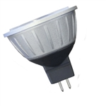 Halco MR16WFL10/827/LED - MR16 2.5W 2700K Dimmable 60 GU5.3 ProLED Damp Location Silver/Dark Gray - Halco 81057