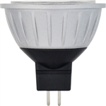Halco 81061 > 4 Watt MR16 ProLED Damp Location Silver/Dark Gray - MR16WFL20/827/LED 81061 LED MR16 4W 2700K Dimmable 60 GU5.3 ProLED Damp Location Silver/Dark Gray