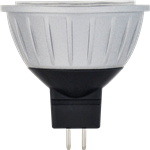 Halco 81069 > MR16EXZ/827/LED 81069 LED MR16 8W 2700K Dimmable 20 GU5.3 ProLED Damp Location Silver/Dark Gray - 8 Watt