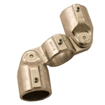 Hollaender 19E-8 > Double Adjustable Socket Tee - 1 1/2 Inch - Aluminum