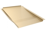 IronRidge KOF-F01-T1 > Knockout Tile, Tan Flashing, Flat Profile - 1 Unit