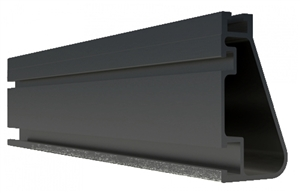 IronRidge XR-1000-168B > XR 1000 Rail - 14ft - Black Anodized Finish