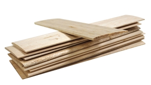 KidWind Balsa Wood Blade Sheets - 10 Pack