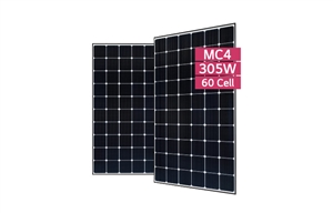LG Solar LG305N1C-G4 > 305 Watt Black Frame NeON2 Solar Panel - Cello technology