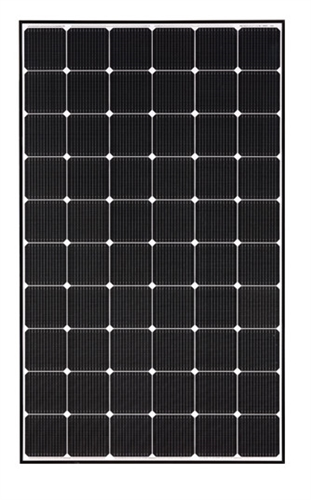 Lg Solar 325 Watt Black Frame Neon 2 Solar Panel Cello
