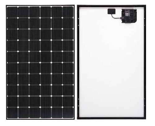 lg solar 330 watt black frame neon 2 ace solar panel with. Black Bedroom Furniture Sets. Home Design Ideas