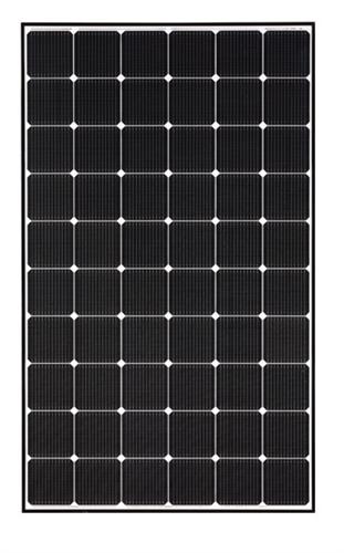 LG Solar - LG335N1C-A5 > 335 Watt Black Frame NeON 2 Solar Panel, Cello  technology
