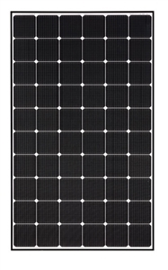 LG Solar - LG335N1C-A5-AWB > 335 Watt NeON™2 Solar Panel, Cello technology - Matte Black Frame