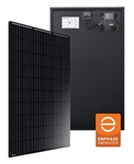 Longi All Black IQ7 ACM >  305 Watt Mono Solar Panel with Enphase IQ7 Micro Inverter - BoB - Pallet Quantity - 26 Solar Panels