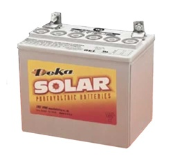 MK Battery 8GU1-DEKA - 12 Volt 31.6 Amp Hour Sealed Gel Battery