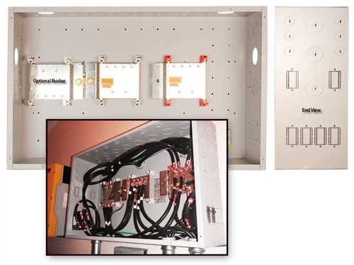 Midnite Solar MNBCB 1000/100 > MN-Battery Combiner with 1000A Bus bars and  100mV shunt for OutBack Systems