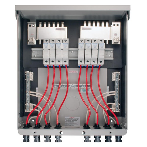 Midnite Solar Mnpv8 Mc4 Pre Wired Combiner Box