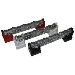 Midnite Solar MNTBBR - Busbar with RED Insulators