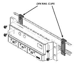 MorningStar DIN-1 > DIN Rail Clips - Pack of 2 Clips