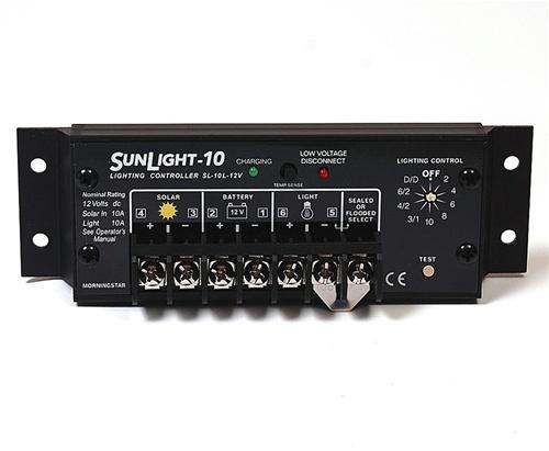Image result for SunLight 10 Amp 12 Volt Solar Lighting Controller