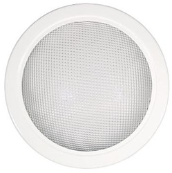Natural Light 18 Inch Tubular Skylight Trim Ring with Diffuser - (Prismatic) - 18TRDP