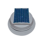 Natural Light SAF16GR > 16 Watt Gray Solar Attic Fan > Shingled Roof