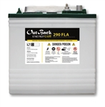 Outback Power EnergyCell 290FLA > 251 Amp Hour 6 Volt Flooded Battery