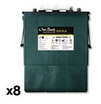 Outback Power EnergyCell 48-FLA-525 > 445 Amp Hour 48 Volt Flooded Battery System