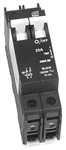 OutBack Power DIN-30D-AC-480 - 30 Amp 277 / 480 VAC Dual Pole DIN Mount Breaker